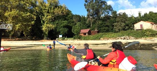 Ruta en Kayak a Isla de Cortegada